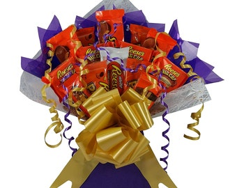 Reese's American Chocolate Bouquet Tree Explosion Gift Hamper Selection Box - Perfect Gift (Large)