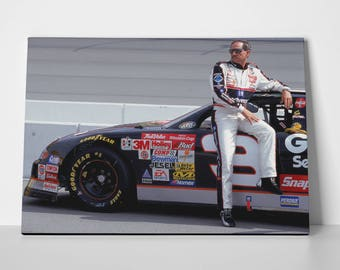 Dale Earnhardt Poster Limited Edition Dale Earnhardt Poster | Dale Earnhardt Canvas