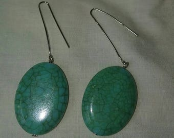 Turtle Shell Earrings