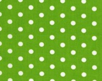 BT-2582-8 Lime by Robert Kaufman Pimatex Basics - Lime Polka Dot