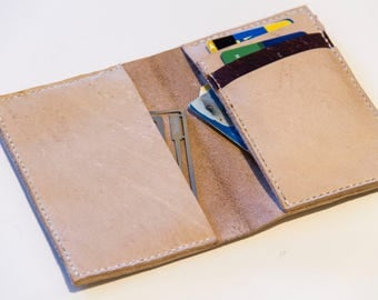 Tan Teratorn Leather Wallet