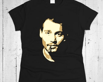Johnny Depp Women T-shirt