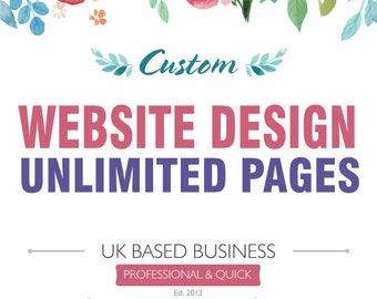 Premium Website Design Package, Wordpress Website Package, Blogging Website, Business Website, Restaurant Website, Boutique Website