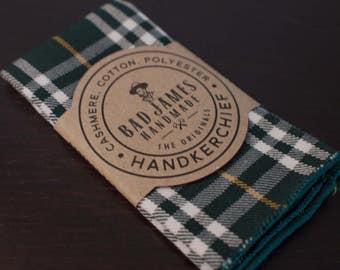 Lumberjack Handkerchief - Bad James - Mens Handkerchief - Axe