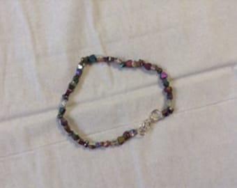 Purple Hearts Bracelet