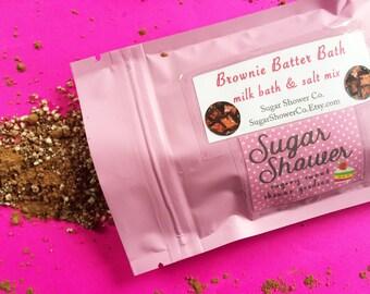 Brownie Batter Bath - Milk Bath & Epsom Salt Mix - Bath Soak