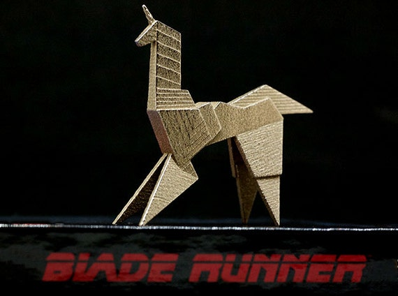 Blade Runner Origami Unicorn Pin: Gaffs Unicorn Blade Runner Origami