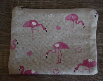 Pouch Flamingo Pink