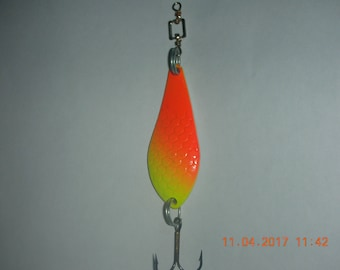 """1 pcs spoon """"Atom"""" ,lures, baits, , the catch is guaranteed!!!"""