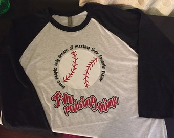 Favorite Baseball Player Mom tee