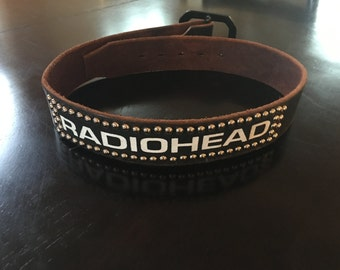 Radiohead Belt