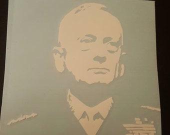 "6"" General Mad Dog Mattis Vinyl Decal"