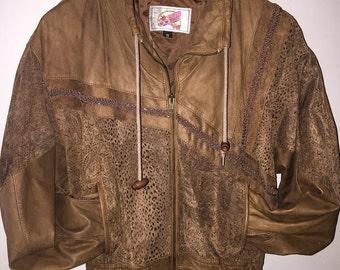 Leather Western Jacket