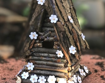Handcrafted Fairy House