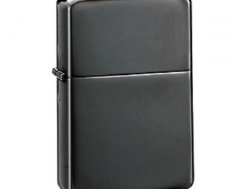 Personalised Engraved Black Ice Star Lighter