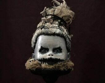 Voodoo Baby, Halloween, Re-purposed, OOAK, Eerie, Dark
