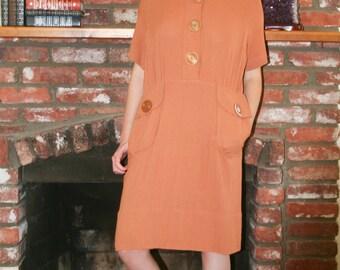 Miss Minimalist, Vintage dress