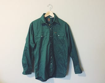 Vintage 'Kodiak' Work Shirt