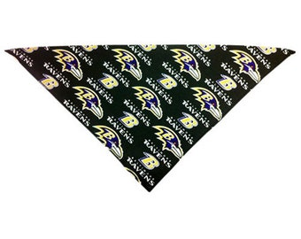 Mens + Womens Baltimore Ravens Bandana