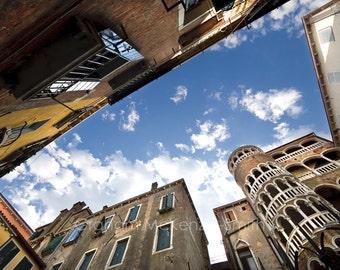 Venice Sky , Venice photography, Venice art print, Venice, Italy