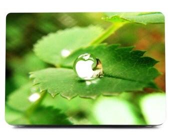 MacBook Skin, Water Drop Decal, Green Macbook Sticker,Macbook Nature, Laptop Decal, Macbook Decal, Laptop Sticker, Macbook Sticker