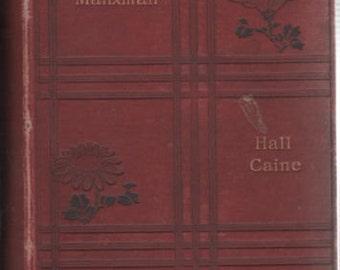 the Manxman Hall Caine Book 1894 Red Hardback Book