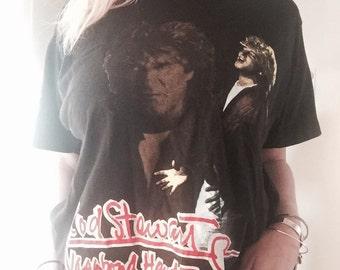 Vintage Rod Stewart Concert T-Shirt | Vagabond Tour '91-'92