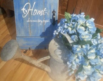Barn Door Sign/Distressed Wooden Sign/Home Saying/Vintage Sign/Shabby Chic Sign/Hand Crafted/Shabby Chic/Housewarming Gift/Home Decor
