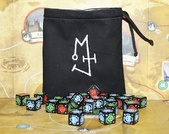 Ithaqua 'Symbol' Dice Bag