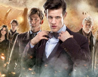 Day Of The Doctor Movie Poster