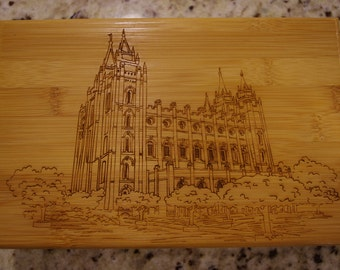 LDS Temple Box - Salt Lake Temple