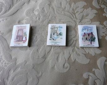 Miniature fairy story books