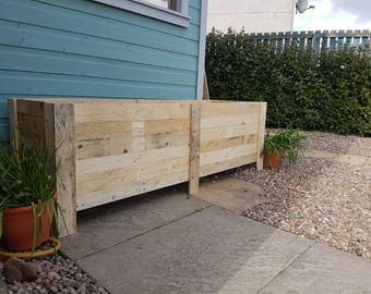 Pallets to planters!