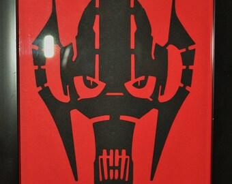 Star Wars Papercut
