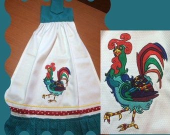 Rooster - Machine Embroidery Design