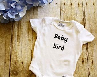Baby Bird Onesie //Baby Onesie // Funny Baby shirt // Funny Baby Onesie