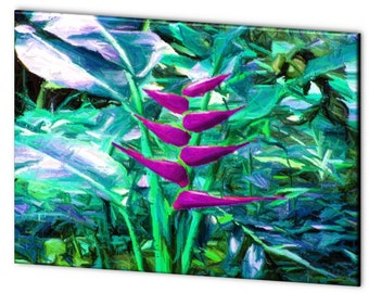 Limited Edition Floral Artistic Photography Canvas Print - 10% of Proceeds for Charity