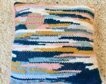 Soft Woven wool cushion