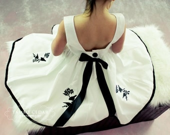 Beautiful In White / Girls Dress/ ON SALE was 80.00 + now 65.00 +