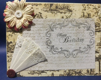 Musically Inclined Birthday Card -this gorgeous card is great for any whom you want to know you really care about their birthday.