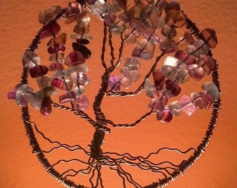 Tree of Life Wire Pendant