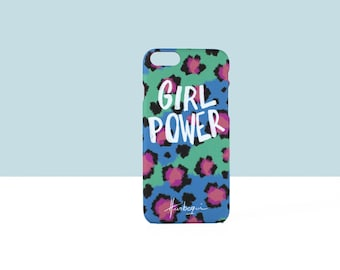 Case 'Girl Power' Leopard for Iphone 6s and Iphone PLUS 6s