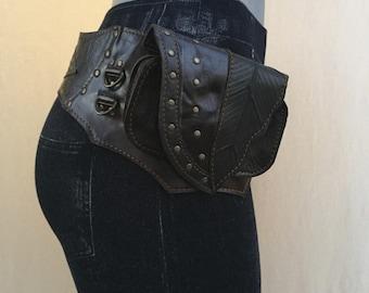 Alexis Leather Utility Hip Belt