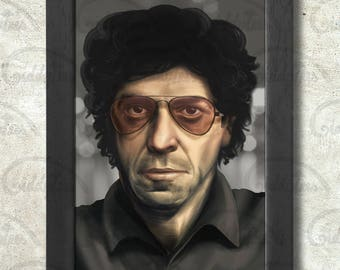 Lou Reed Poster Print A3+ 13 x 19 in - 33 x 48 cm  Buy 2 get 1 FREE