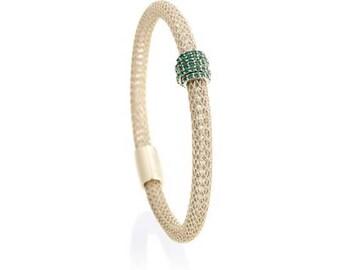 Emerald on Ice Gold Eccellenté Bracelet