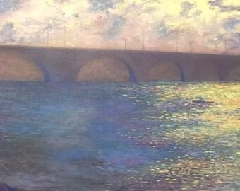 Original Oil Painting On Canvas Size: 50cm x 60cm