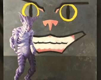 Matt as the Cheshire Cat