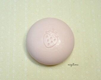 Ichigo milk flavor soap