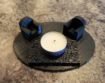 Romantic Fire Pit Tea Light Candle Holder