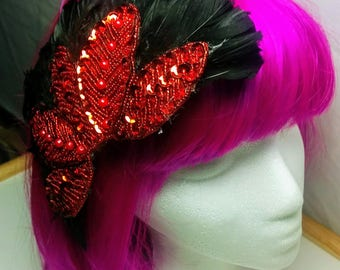 Briar Rose Feather Fascinator